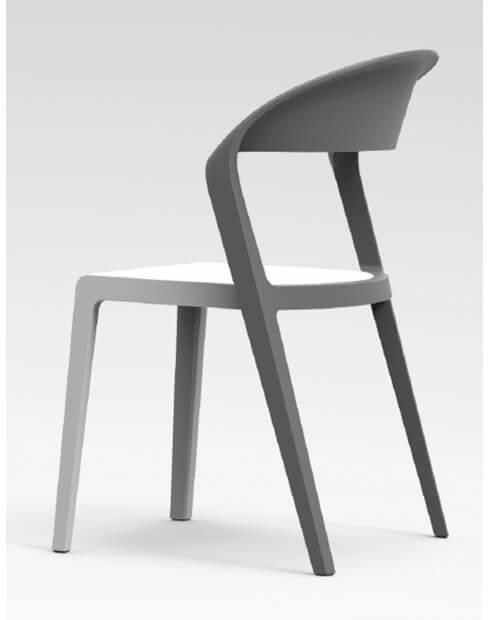 Gray - Duoblock Multi-Purpose Chair