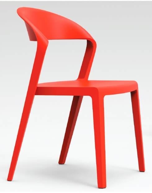 RED - Duoblock Multi-Purpose Designer Chair