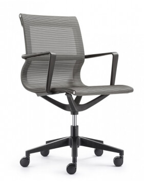 Matell Gray Mesh Task Chair