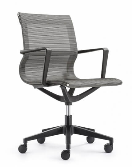 Matell Gray Mesh Task Chair