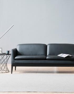 Brooklyn Minimalist Two Seater Modern Office Sofa