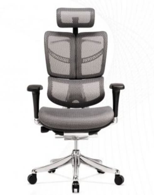 Front - Butterfly Super Ergonomic Executive Mesh Chair
