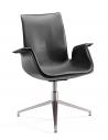 AK Signature Shadow Gray Designer Visitor Chair