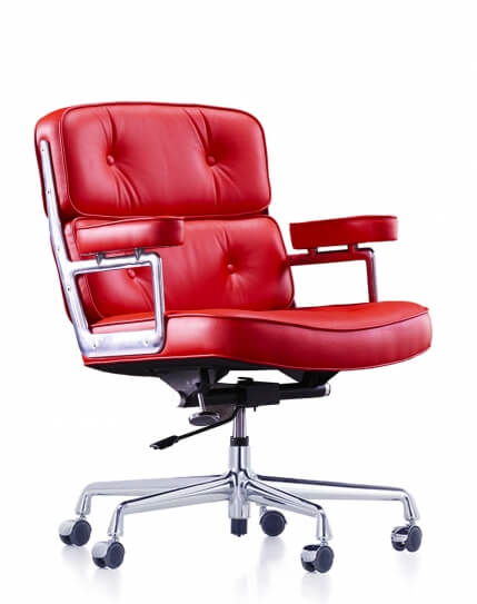 Eames Style Lava Red