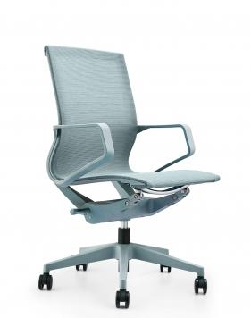 Airwave Ice Blue Low Back Designer Mesh Chair