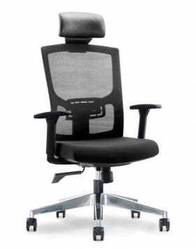 Newman Black Ergonomic Executive Office Chair