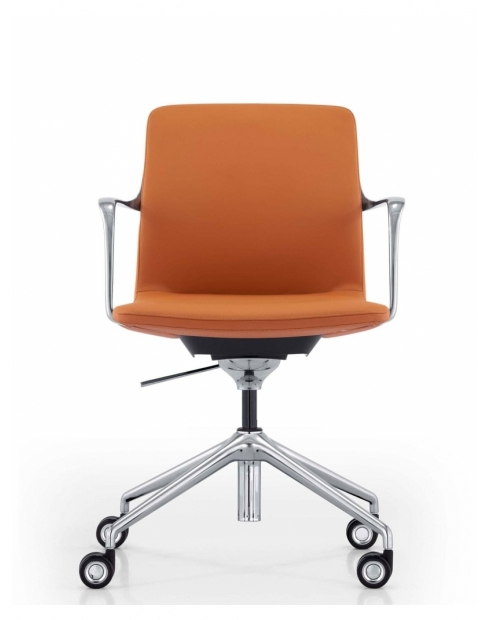 Diego Genuine Leather Designer Conference Chair