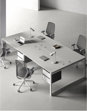 Ace Series Cluster of 4 Face to Face Workstation